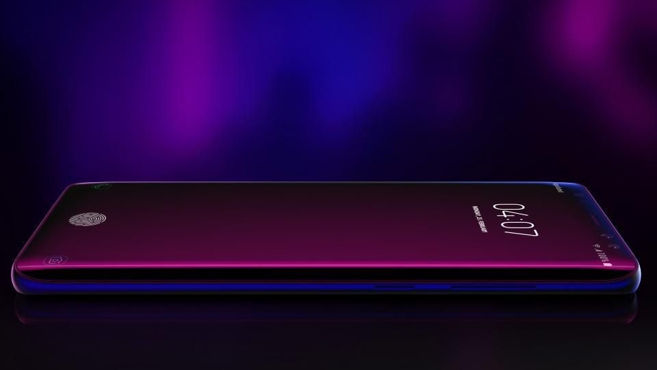 Samsung Galaxy S10 senzor in display