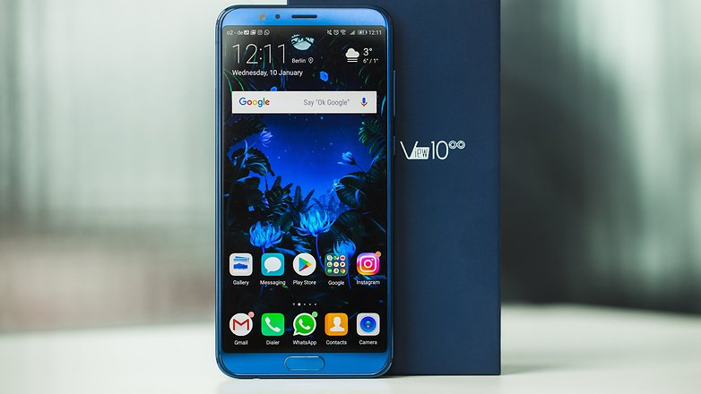 Top 5 telefoane Honor in 2018 - Honor View 10