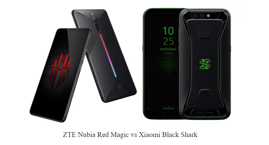 Xiaomi Black Shark sau Nubia Red Magic comparatie (2)