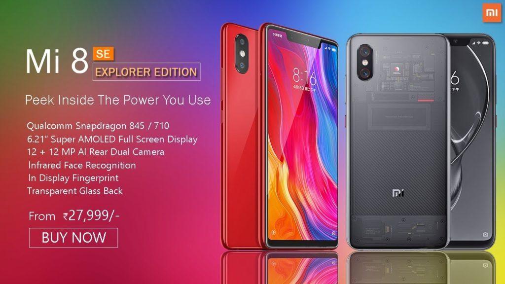 Xiaomi Mi 8 Explorer Edition pret