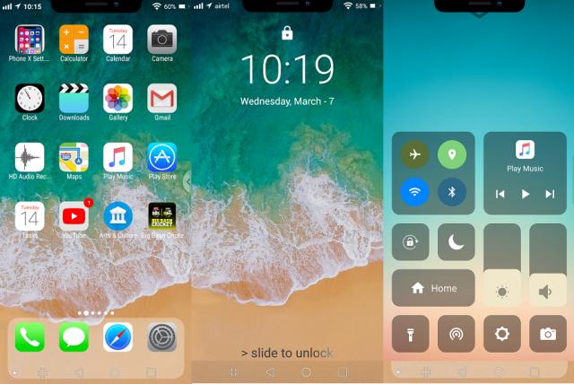 cel mai bun launcher iPhone pentru telefoanele Android (3)