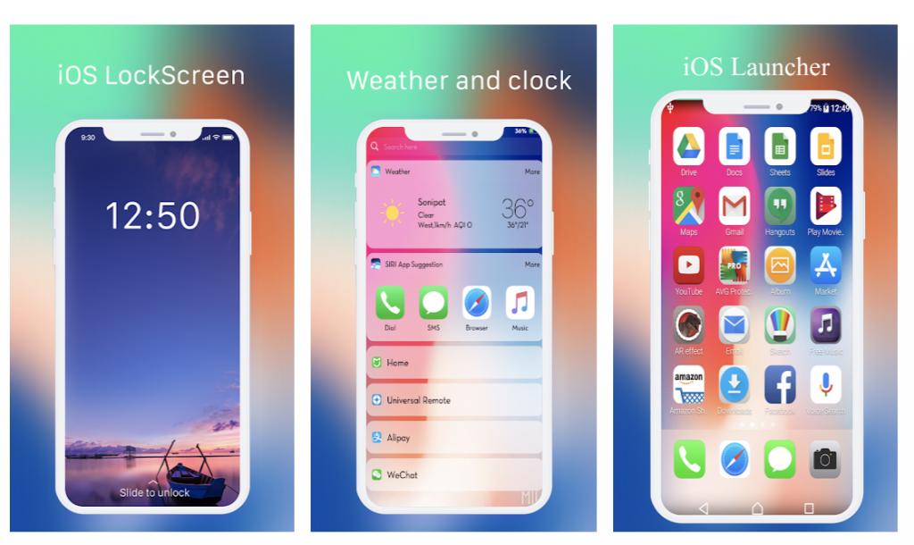 cel mai bun launcher iPhone pentru telefoanele Android