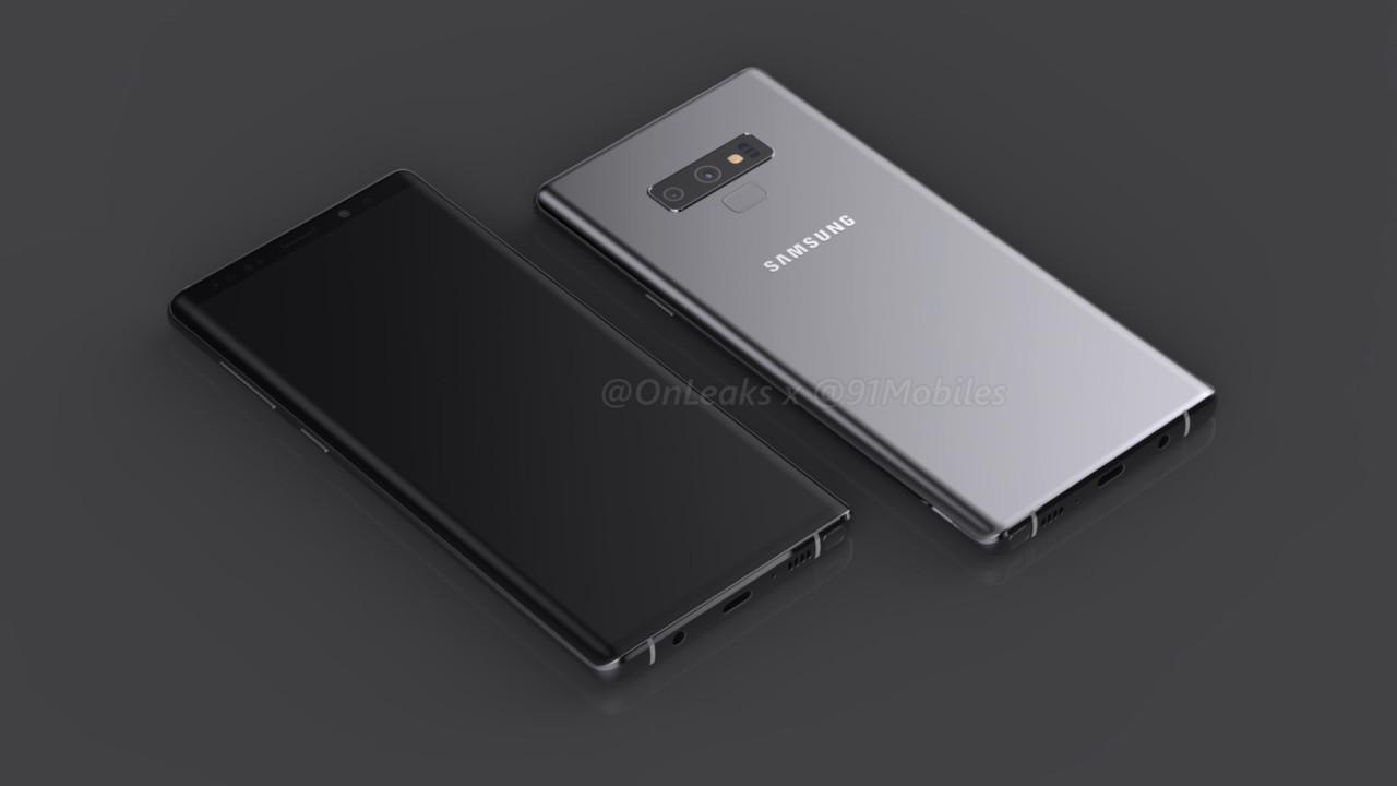 Concept Samsung Galaxy Note 9: asa va arata viitorul flagship Samsung