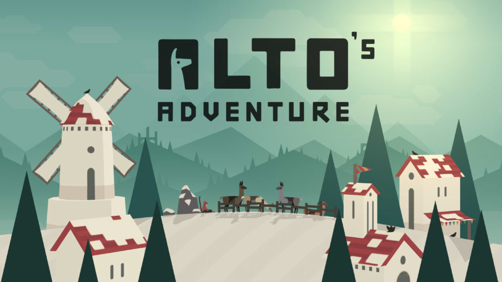 Top 10 jocuri pe iOS in 2018 -Alto's Adventure