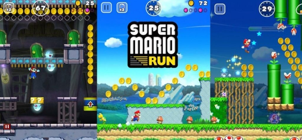 Top 10 jocuri pe iOS in 2018 - Super Mario Run