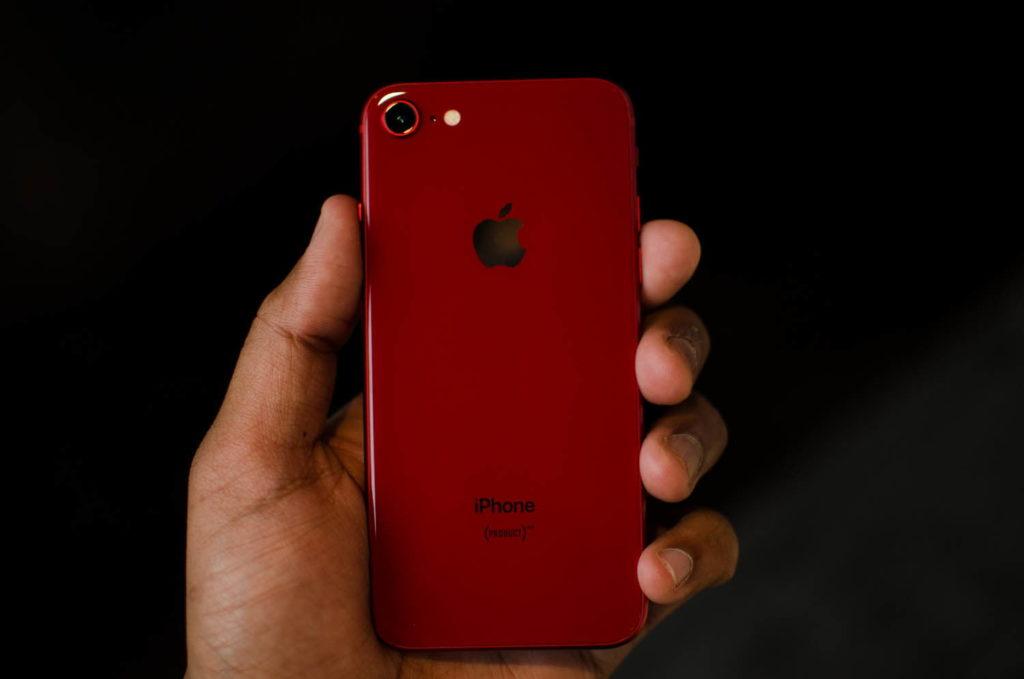 iPhone 8 rosu