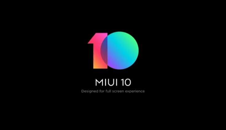 update la MIUI 10