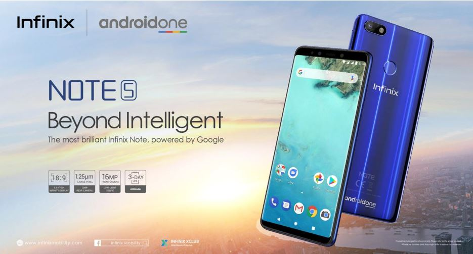 Infinix Note 5 Android One (3)