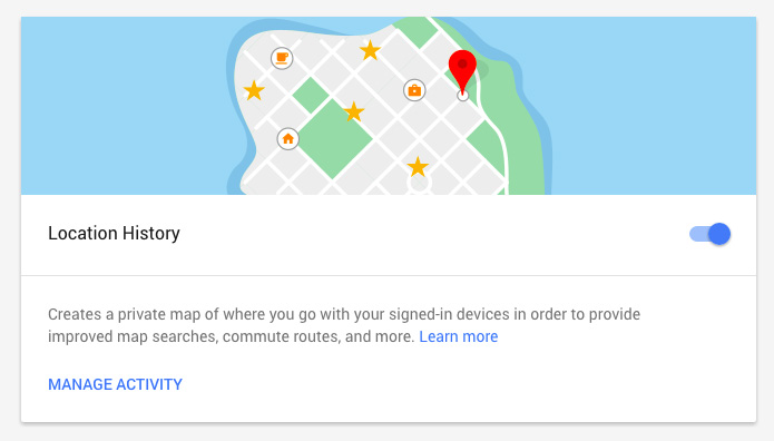 Location History- Google