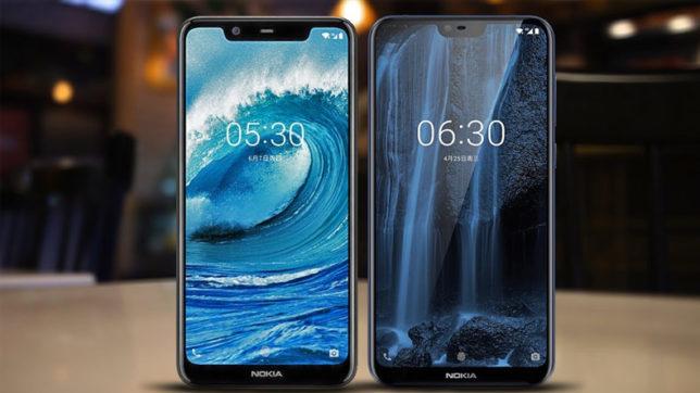 Nokia 5.1 Plus vs Nokia 6.1 Plus