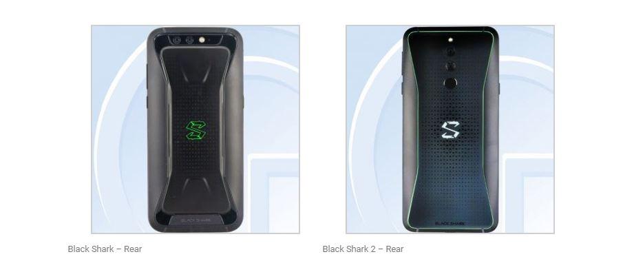 Black Shark vs Black Shark 2