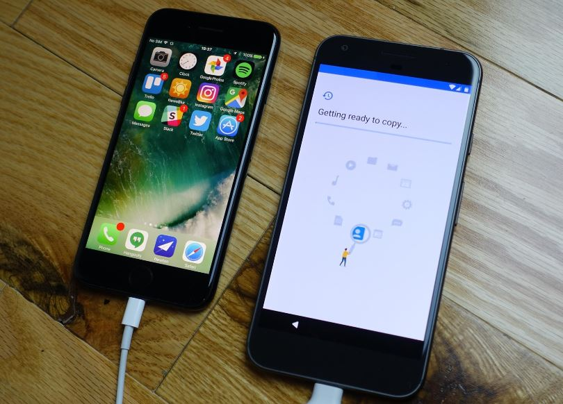 Cum transferi contactele de pe Android pe iPhone (2)