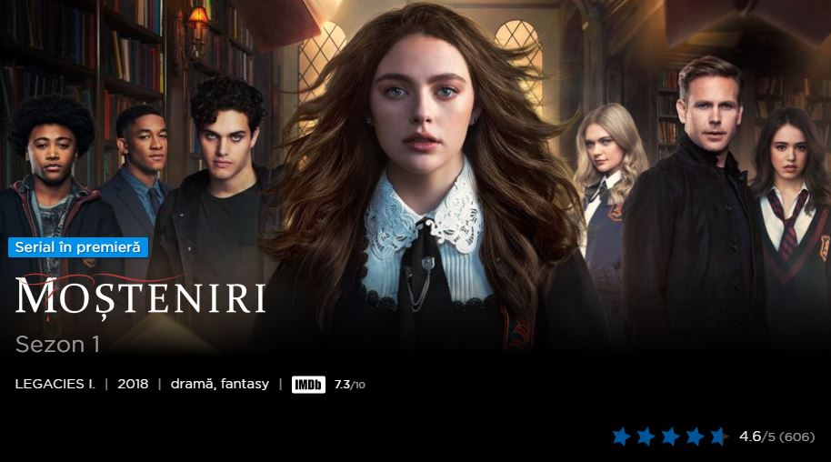Top 10 seriale Hbo Go 2018 - Legacies