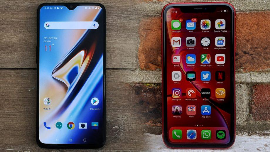 top 4 motive in favoarea OnePlus 6T vs iPhone XR (1)