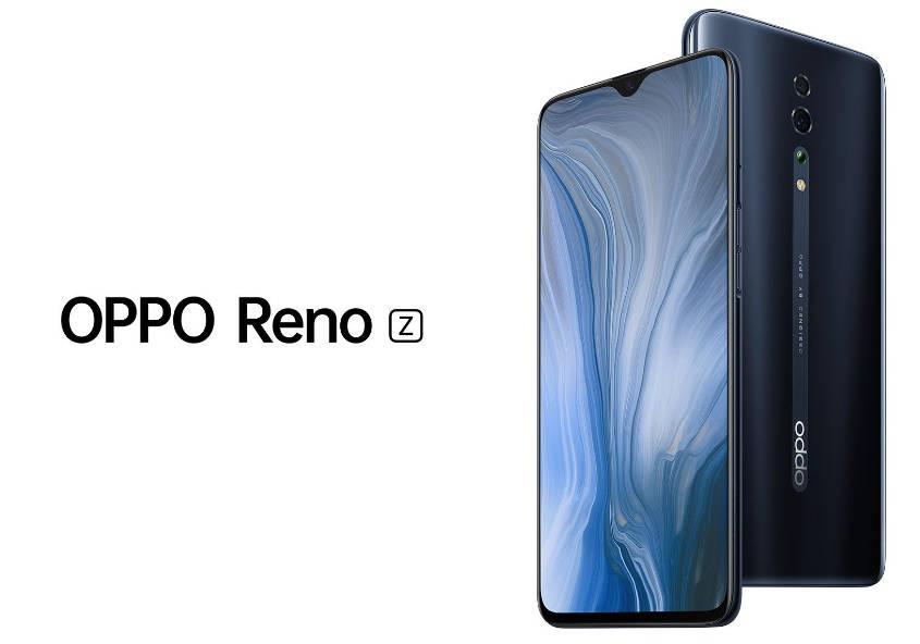 Noul Oppo Reno Z are un aspect placut si un design modern