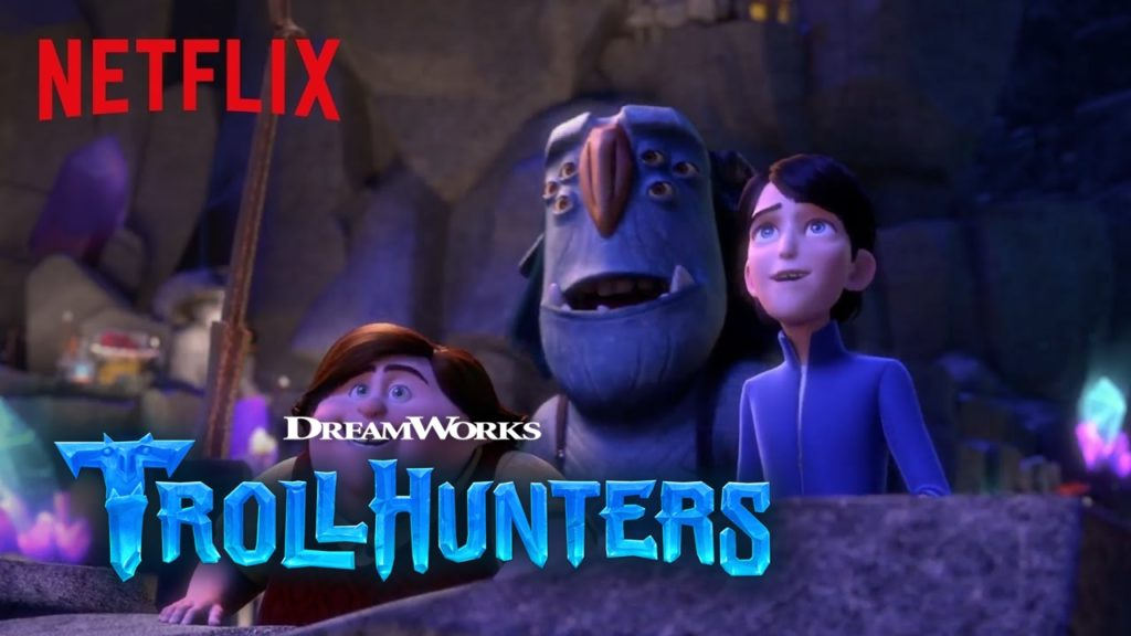 Top 10 seriale Netflix 2019 - Trollhunters