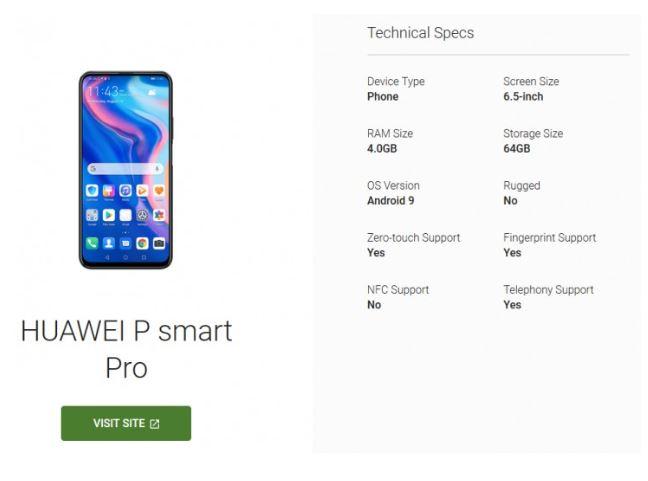 Huawe P Smart Pro (2)