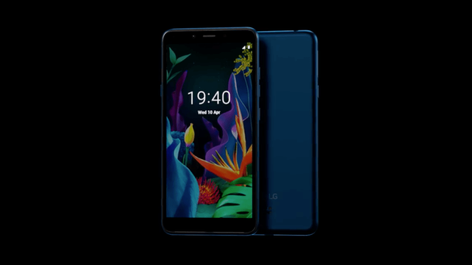 LG K20 Android Go