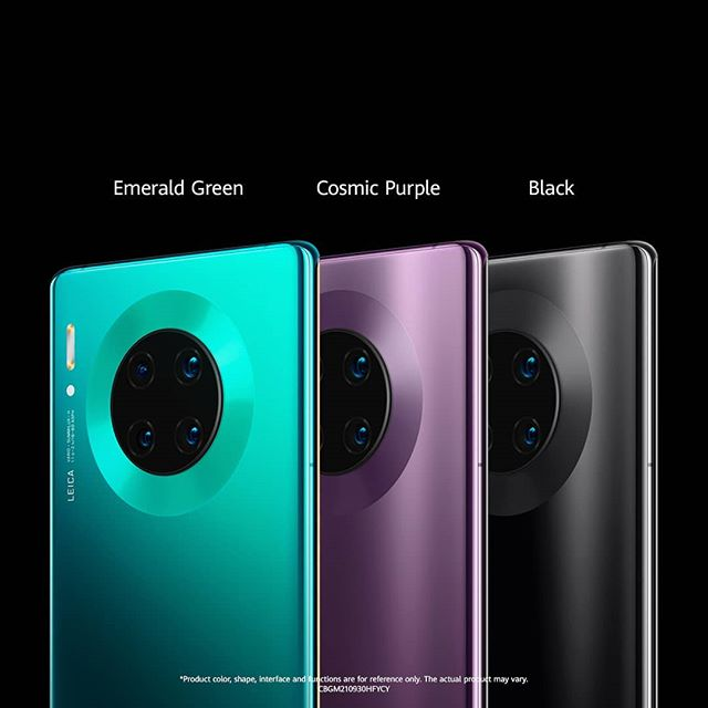 Huawei Mate 30 culori