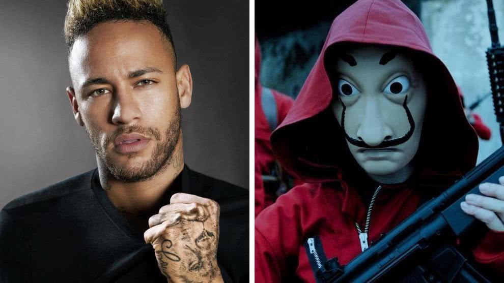 La Casa de Papel - Neymar